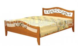 Односпальная кровать Алиса (ковка)