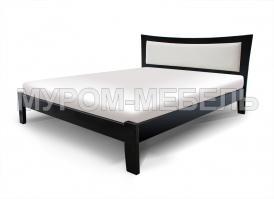 Кровать Аврора с мягкой вставкой