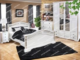 Спальный гарнитур Милена из дуба