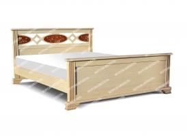 Кровать Лирона из дуба