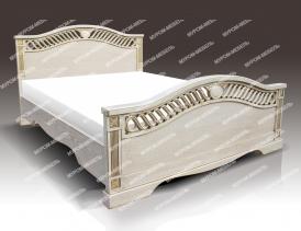 Односпальная кровать Милена из дуба