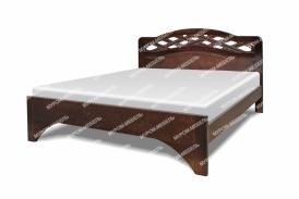 Полутороспальная кровать Вирсавия из березы